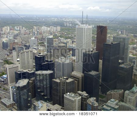 Toronto City Scape from the CNN tower