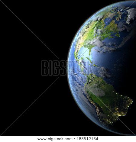 Americas From Orbit