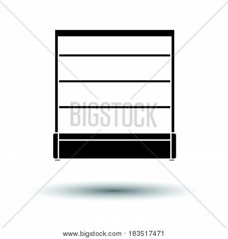 Supermarket Showcase Icon