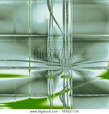 Antique frame or background with vintage feeling. Aged texture with different color patterns: green; gray; cyan; white