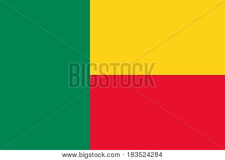 Flag Of Benin Horizontal