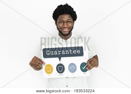 Man Cheerful Smiling Portrait Concept