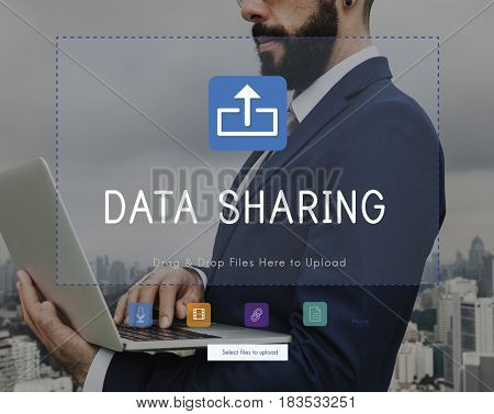 Online sharing is about social media and networking.