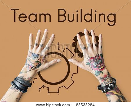 Teamwork Cooperation Collaboration Team Building Icon