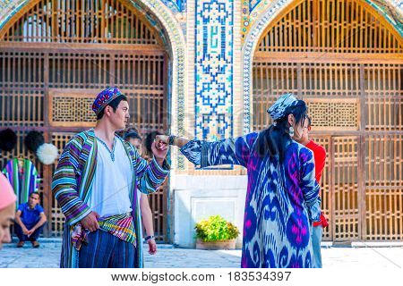 Traditional Uzbek Wedding, Samarkand