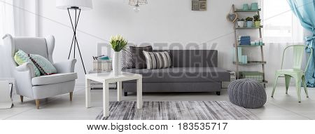 Living Room In Scandinavian Style Idea