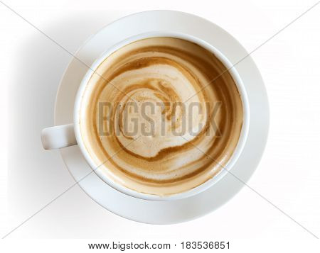 Coffee cup isolated on white background. coffee cup.