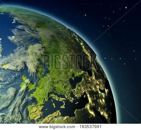 Europe From Orbit