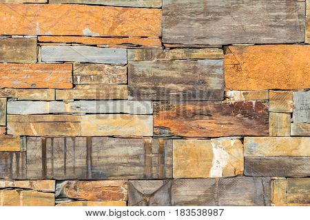 Background texture of earthy colored shale stone