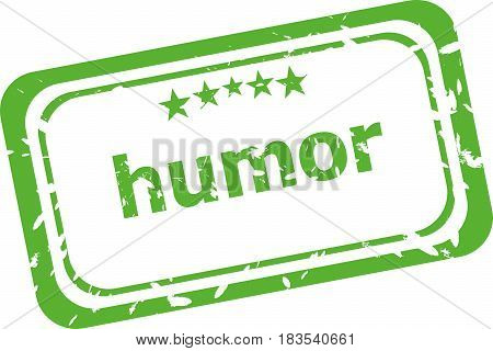Humor Grunge Rubber Stamp Isolated On White Background