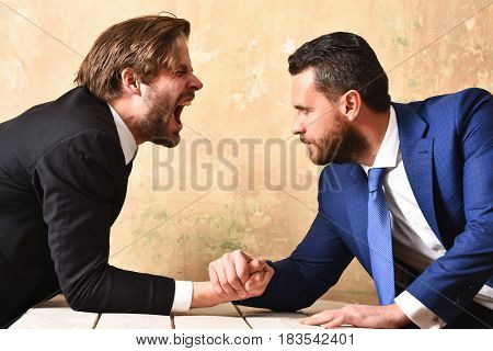 Lawyers Arm Wrestling