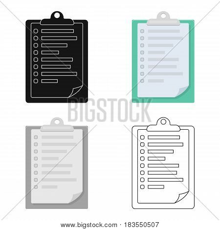 Veterinary pet health card icon in cartoon design isolated on white background. Veterinary clinic symbol stock vector illustration.