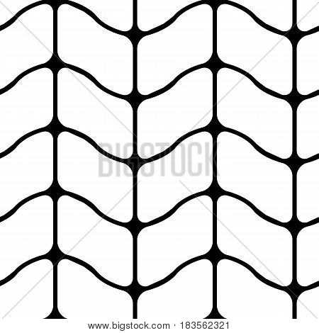 Modern pattern of mesh. Repeating abstract background