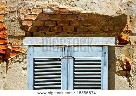 Window  Lonate Ceppino Varese Italy  The Concrete  Blue