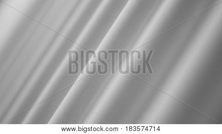 Abstract Background. White Wavy Texture in Shifting Focus.