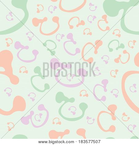 seamless pattern of kids and catatonic fashion designs pattern tile no auto pattern 100 percent manually adjusted just drag into you swatches and use easily