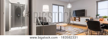Interior Of Modern Flat