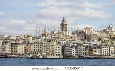 Istanbul, centered on Galata Tower and what? is known as the New City.