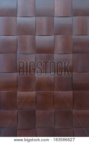 Basket Weave Wooden Texture over wall with faux wooden pattern