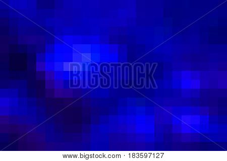 Dark blue abstract vector square tiles mosaic background