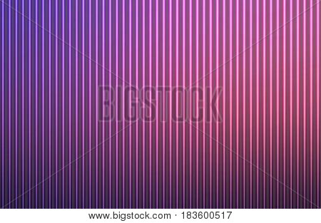 Purple blue pink abstract blurred gradient mesh with light lines vector background