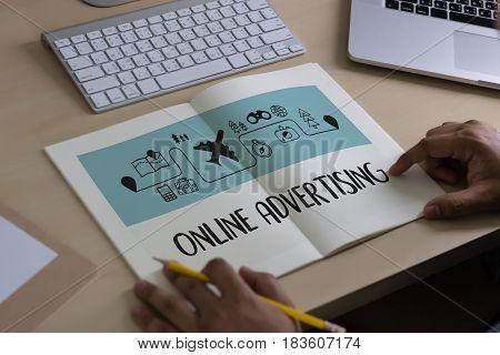 Online Advertising  Website Marketing , Update Trends  Advertising , Online Business Content Strateg