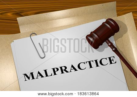 Malpractice - Legal Concept