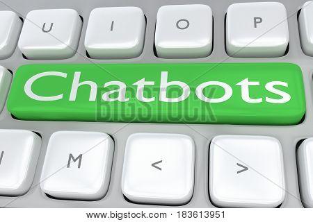 Chatbots - Communication Concept