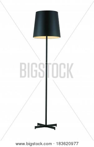 Black Tall Floor Lamp