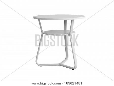 Metal Round Table Desk