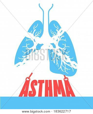 Banner Bronchial Asthma Chain-bound