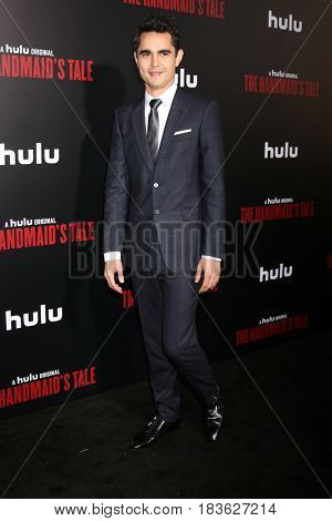 LOS ANGELES - APR 25:  Max Minghella at the Premiere Of Hulu's