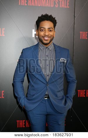 LOS ANGELES - APR 25:  Shaun Brown at the Premiere Of Hulu's