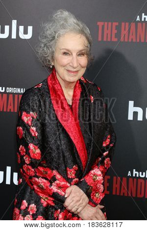 LOS ANGELES - APR 25:  Margaret Atwood at the Premiere Of Hulu's