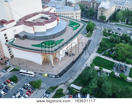 National Theater In Bucharest