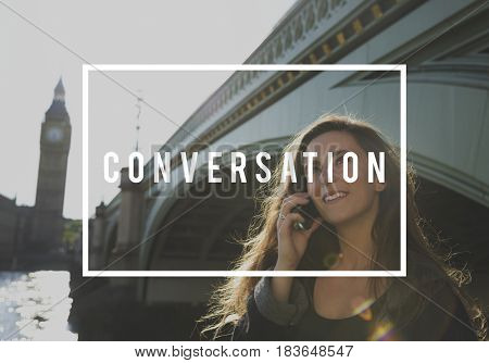 Conversation Discussion Talking Communication Word