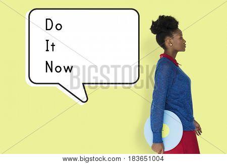 Do It Now Begin Start Launch Motivate