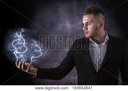 Lightning In Hand