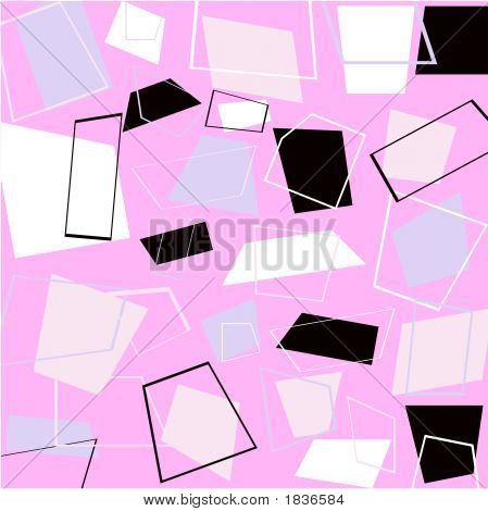 Vector Illustration Of Retro Squares