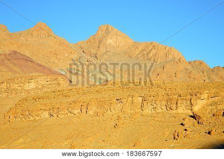 In   Africa Morocco The Atlas Valley   Isolated