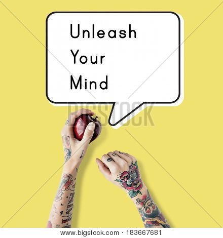 Unleash Your Mind Ideas Vision Release poster