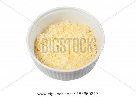Cheese Parmesan On A Plate 02