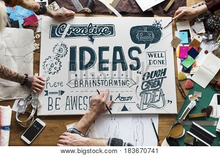 Inspiration Ideas Design Creative Thinking Word