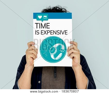 Save Time Save Money Concept