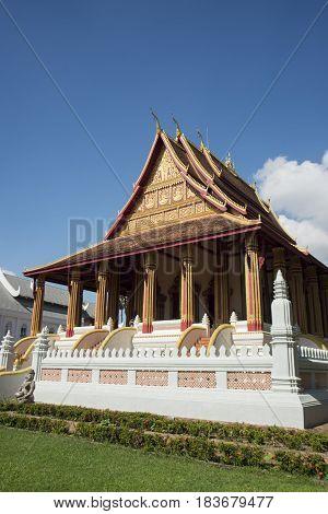 Laos Vientiane Wat Haw Pha Kaeo