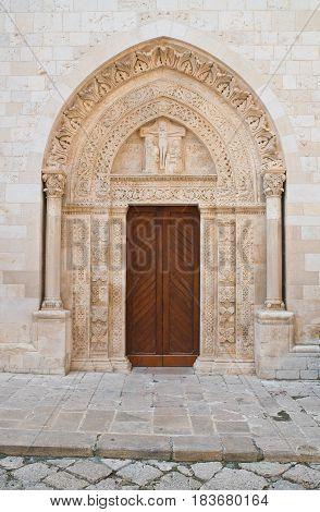 Basilica Cathedral of Conversano. Puglia. Southern Italy.