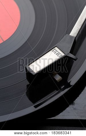 Picture of music vinyl player