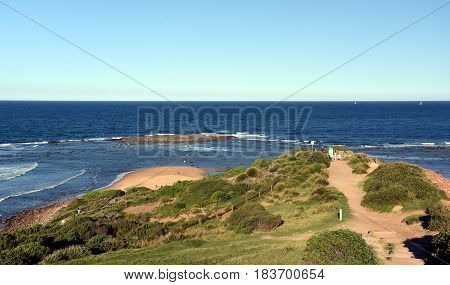 Long Reef Headland at low tide (Sydney NSW Australia)