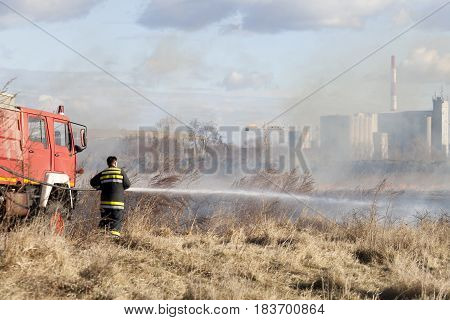 Firefighting On The Field