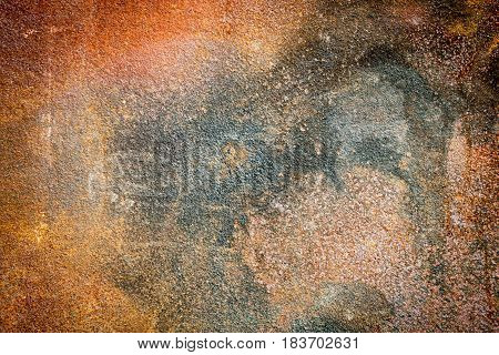 Rusted metal texture for background. Rusted sheet of metal.